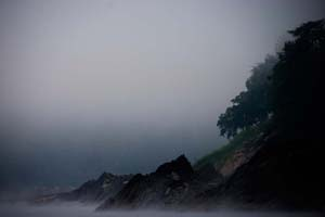 Elaine Batton_mekong morning -at Cliffs edge
